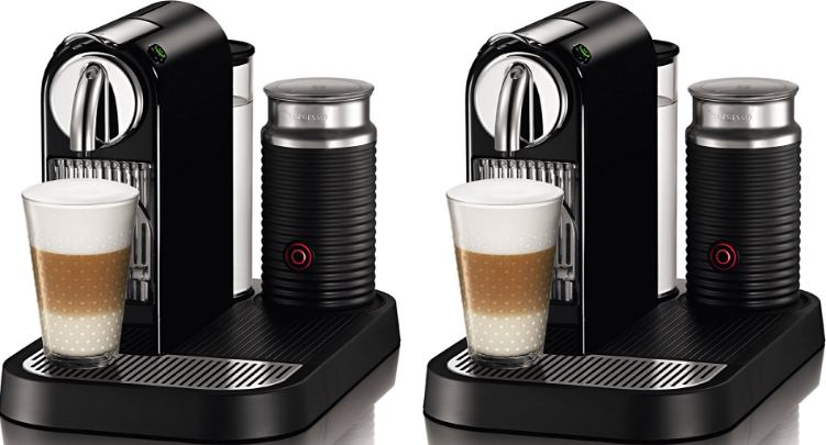 Nespresso CitiZ Automatic Espresso Maker and Milk Frother