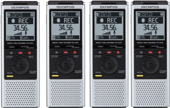 Olympus VN-722 PC Top Most Selling Digital Voice Recorders 2017