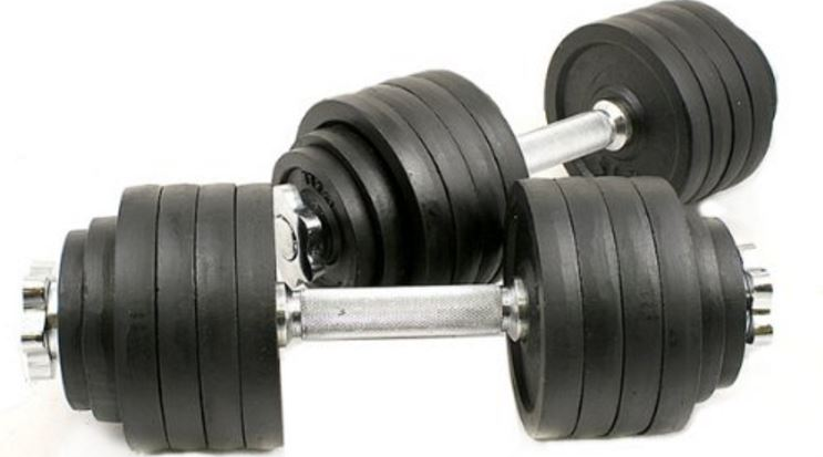 One Pair of Adjustable Dumbbells Kits-200 Lbs (100lbs by 2pc) Top Famous Selling Adjustable Dumbbells 2019