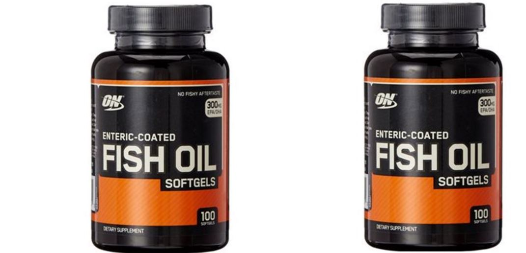Optimum Nutrition Fish Oil Softgels (100 count)