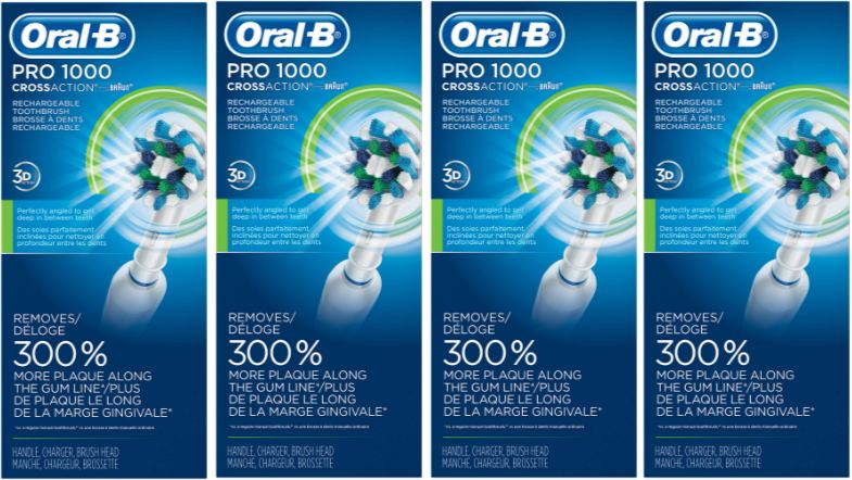 Oral-B Pro 1000 Electric Rechargeable Toothbrush Top Most Selling Electric Toothbrushes 2017