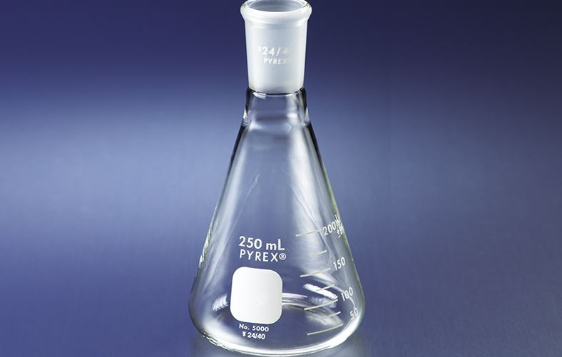 pyrex-narrow-mouth-erlenmeyer-flask