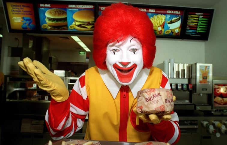 ronald-mcdonald-top-popular-memorable-advertising-mascots-of-all-time-2019