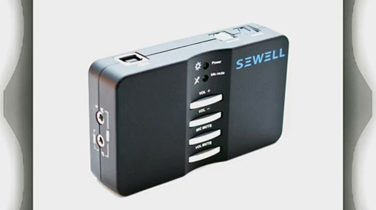 Sewell Direct Sound Box External USB Sound Card Top 10 Best Selling External Usb Surround Sound Cards