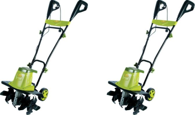Sun Joe TJ603E 16-Inch 12-Amp Electric Tiller and Cultivator Top Famous Selling Electric Tillers 2019
