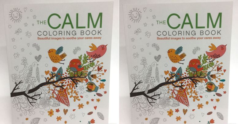 The Calm Coloring Book Top 10 Best Selling Adult Books