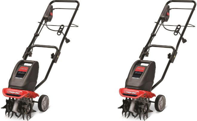 Troy-Bilt TB154E 6 Amp Electric Garden Cultivator Top 10 Best Selling Electric Tillers