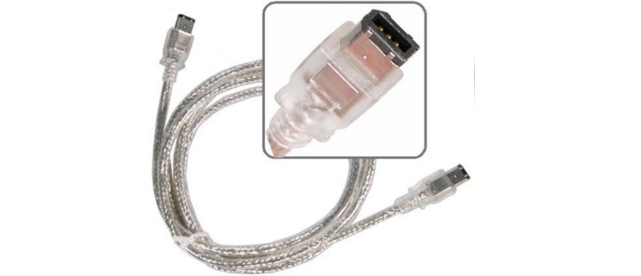 eForCity Male Silver FireWire Cable Top 10 Best Selling Firewire Cables
