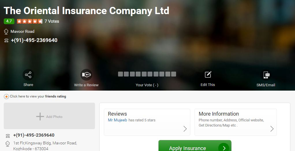 Best General Insurance Companies of India 2019