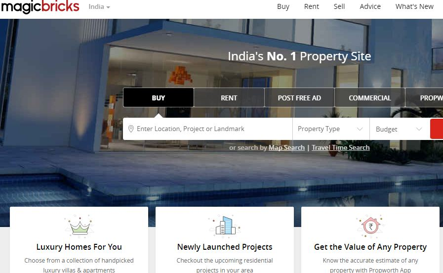 Best Property Websites in India