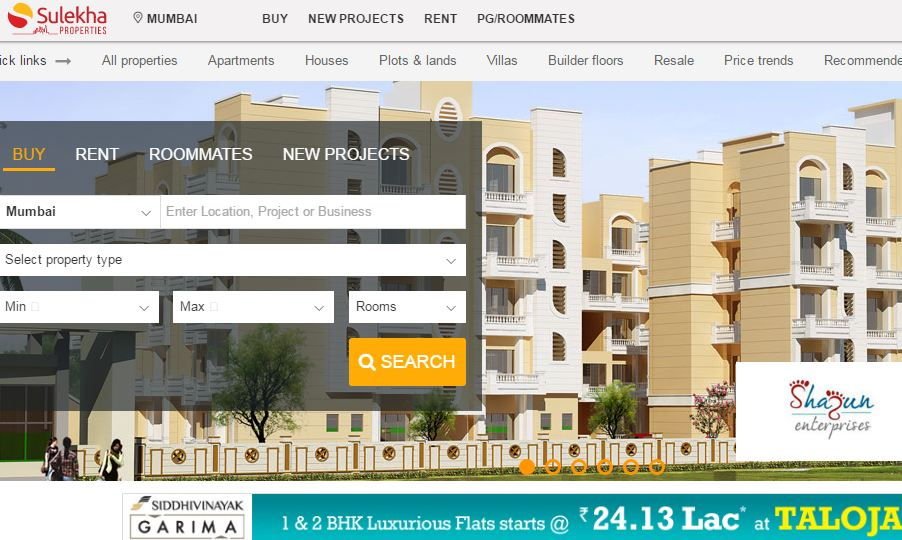 Best Property Websites in India 2019