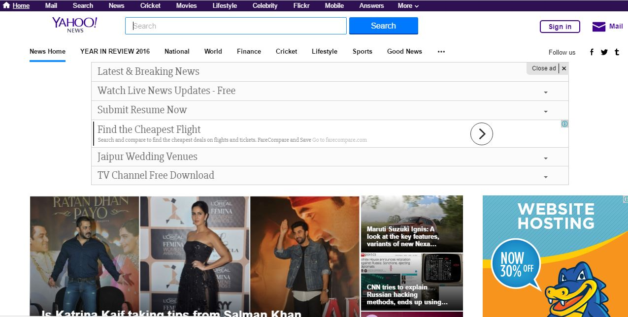 Most Popular Best News Websites 2019